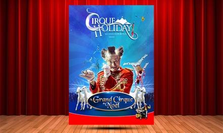 1 place pour Le Grand Cirque de Noël de Bron, avec catégorie au choix, dès 10 € au Parc de Parilly