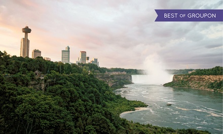 groupon daily deal - 2-Night Stay w/ Dining & Spa Credits, and Wine at Sterling Inn & Spa in Niagara Falls, ON. Valid for Check-In Sun–Thurs.
