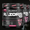 ALLMAX Razor8 Pre-Workout Supplement (30 or 90 Servings)