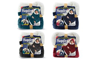 Huggle Hoodie Throw (1-, or 2-Pack)