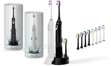 Sonic Edge Extended Charge Toothbrush with 4 Heads 28ee89e0-3c9f-11e7-8012-00259069d868