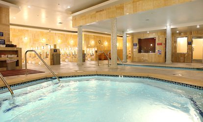 image for Spa Admission for One or Two, European Facial, or 60-Minute Massage at Imperial Health Spa (50% Off).