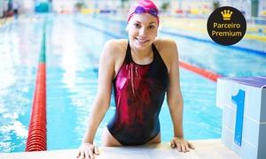 Academia Golfinho Azul: Academia Golfinho Azul – Cidade Alta: 4, 8 ou 12 meses de natação, musculação, mat pilates, boxe, hidroginástica e mais