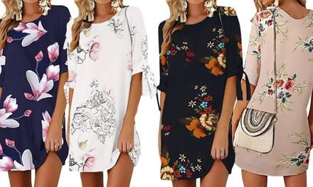 1 ou 2 robes casual légères imprimé fleurs