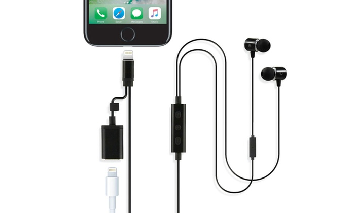 f125ea3d52c Apple-Certified Earphones with Lightning Cable and Charging Port