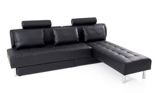 canap multifonction m moire de forme julia groupon shopping. Black Bedroom Furniture Sets. Home Design Ideas