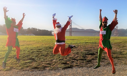Registration for Elf On The Run 5K and 10K on 12/16/18 (Up to 32%  Off)