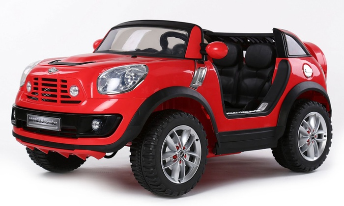 Two Seater Electric Kids Car Groupon Goods