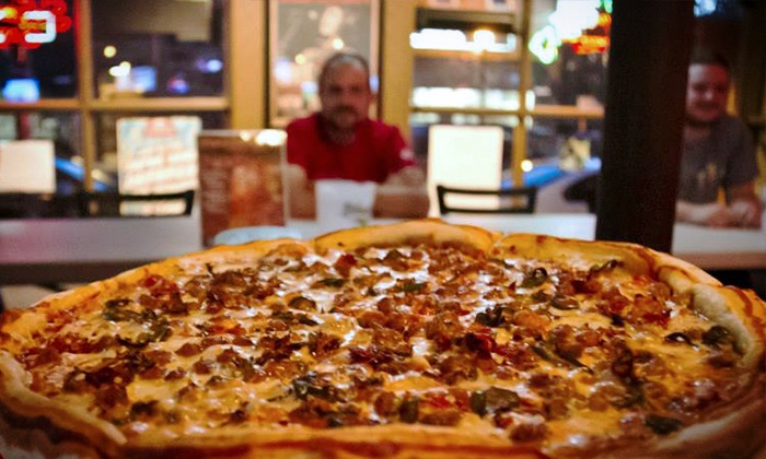 Mikey's Late Night Slice - Multiple Locations: $10 for Two Groupons, Each Good for $10 Worth of Pizza at Mikey's Late Night Slice ($20 Total Value)