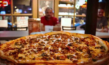 $10 for Two vouchers, Each Good for $10 Worth of Pizza at Mikey's Late Night Slice ($20 Total Value)