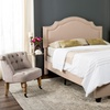 Safavieh Theron Upholstered Headboard and Bed Frame