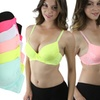 Full-Cup Lace Push-Up Bras (6-Pack)