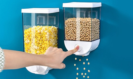 From $19 for a Wall-Mounted Cereal Dispenser in a Choice of Size