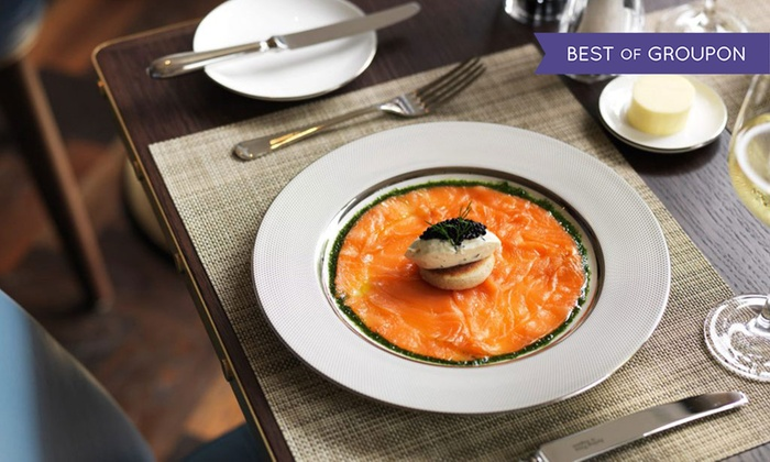 Galvin at The Athenaeum, Mayfair - Piccadilly: Three-Course Lunch or Dinner with Champagne for Two at 5* Galvin at The Athenaeum, Piccadilly (Up to 43% Off)