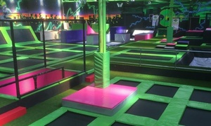 Flip Out Preston: One-Hour Trampoline Jumping Session for One or Four at Flip Out Preston (Up to 38% Off)