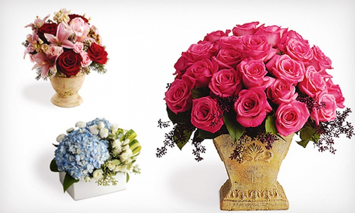 Field of Flowers - Multiple Locations: $30 for $60 Worth of Floral Arrangements and Delivery from Field of Flowers