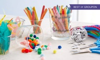 Up to Three Kids Craft Workshop Tickets at Midas Touch Crafts (Up to 86% Off)