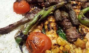 Restaurant Assala: Orientalisches 3-Gänge-Menü mit Grilteller für 2 oder 4 Personen im Restaurant Assala (bis zu 41% sparen*)