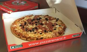 Pizzas et boissons à emporter chez Pizza Renard