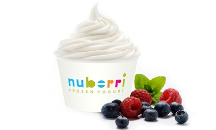 $5 for $10 Worth of Fro-Yo at Nuberri Frozen Yogurt