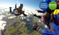 Skydive: 12,000ft for One ($279) or Two ($558), or 15,000ft for One ($359) or Two People ($718) with Skydive Taupo