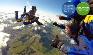 Skydive Taupo: Skydive: 12,000ft for One ($279) or Two ($558), or 15,000ft for One ($359) or Two People ($718) with Skydive Taupo