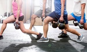 BRX fitness: One or Two Months of Unlimited Fitness Classes at BRX fitness (Up to 79% Off)