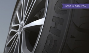Al Dobowi Tyres Co LLC: Two or Four Hankook Tyres in a Choice of Size from Al Dobowi Tyres, Six Locations (30% Off)