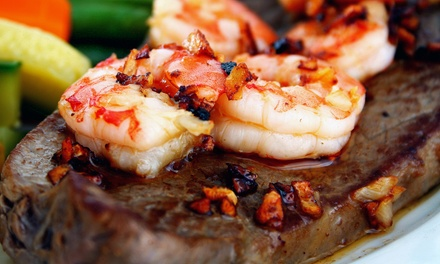 New American Dinner for Two or Four or Brunch Buffet and Drinks for Two at The Black Whale (Up to 56% Off)