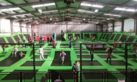 Indoor Trampoline Jumping Session for Up to Four at Hangar 5 Wales (Up to 45% Off)