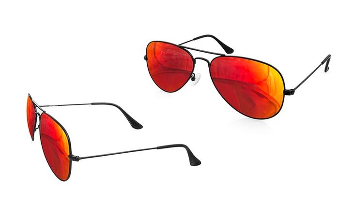 abf8c6ebaa0 AQS Unisex Aviator Sunglasses