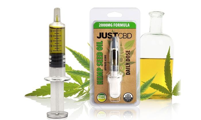 JustCBD Hemp Seed and CBD Oil Single Serve (2-Pack)