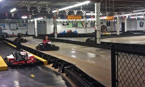 Tri-State Speedway & Sk8erz Roller Skating Rink: Kart Racing, Mini Golf, and Bumper Cars, or a Birthday-Party Package at Tri-State Speedway (Up to 45% Off)