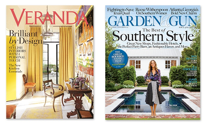 Up To 50% Off Veranda Magazine Or Garden U0026 Gun Magazine ...