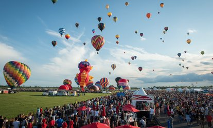 International Balloon Festival of Saint-Jean-sur-Richelieu (August 11–19)
