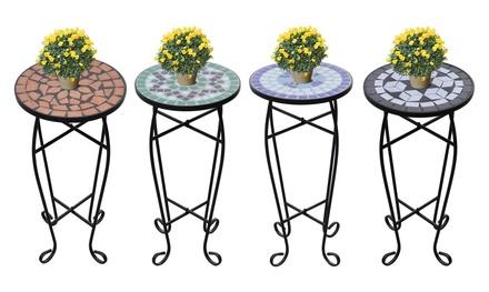 Tavolino con fantasia mosaico