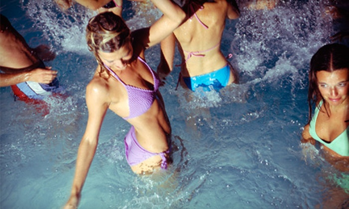 Vegas Rockstar VIP - Arts District: VIP Pool Hop with Tour of Strip on Open-Bar Party Bus for One, Two, or Four from Vegas Rockstar VIP (Up to 72% Off)