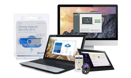 Panda Internet Security 2016 Two-Year Three-User or Global Protection 2015 Five-Year from £9.98 (Up to 92% Off)