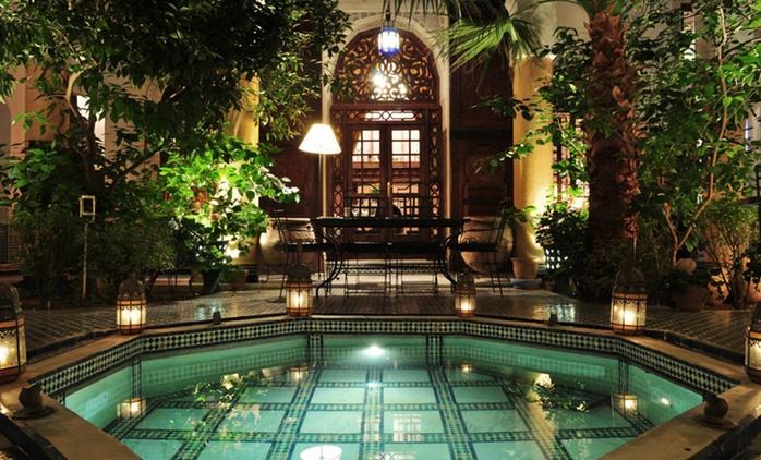 Fès : 1 à 7 nuits en suite double avec petit déjeuner et dîner en option au Riad Le Sucrier de Fès pour 2 personnes