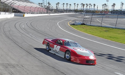 $97 for 20-Lap Stock Car Racing Experience for One at L.A. Racing ($399 Value)