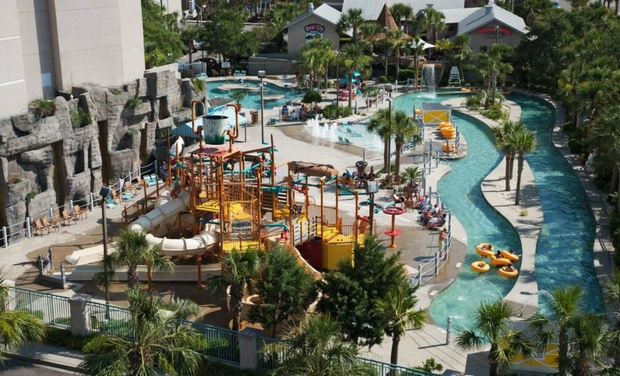 Family Friendly Oceanside Resort In Myrtle Beach