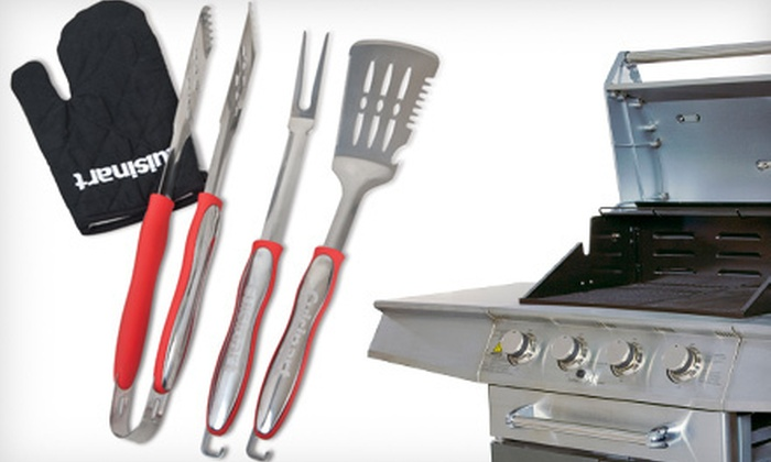 Cuisinart Grilling Set: 4- or 14-Piece Cuisinart Grilling Set (Half Off)
