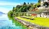 Spiaggia e barca, Lago Maggiore