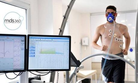 Prueba de esfuerzo con gases, lactato o revisión médica deportiva con ficha federativa desde 29,90€ en Mds360