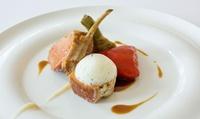 Menu en 5 services concocté par le chef Julien Thomasson dès 59 € pour 2 convives au restaurant Les Ambassadeurs
