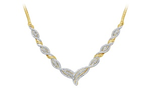 1/4 CTTW Diamond Necklace by Brilliant Diamond at 1/4 CTTW Diamond Necklace by Brilliant Diamond, plus 9.0% Cash Back from Ebates.