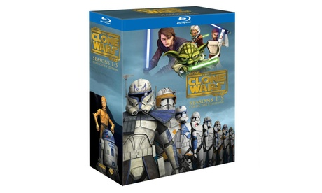 Star Wars Clone Wars Season 1-5 Collectors Edition Blu-Ray or DVD cf35320c-2054-11e7-b0a7-00259069d868