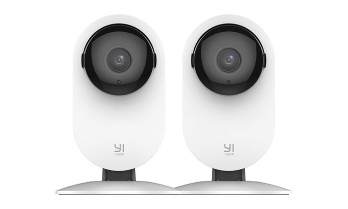 Yi 1080p Full HD Home Camera (2-Pack) | Groupon