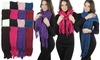 Women's Chunky Cable-Knit Scarf (6-Pack): Women's Chunky Cable-Knit Scarf (6-Pack)