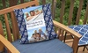 "MailPix: 12"" x 16"", 18"" x 18"", or 22"" x 22"" MailPix Personalized Outdoor Pillows (Up to 82% Off)"